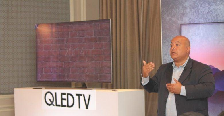 قاسم حسن، رئيس قطاع أجهزة التليفزيونات الذكية في شركة سامسونج مصر