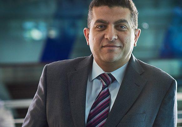 حازم معازي،الرئيس التنفيذي لشركة أمان للخدمات المالية