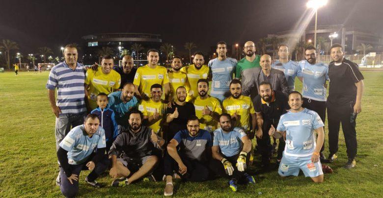 فريقا فايبر مصر و see بعد انتهاء المباراة