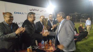 Photo of وزير الاتصالات يسلم رئيس البريد كأس البطولة الرمضانية لقطاع الاتصالات