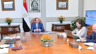 """Photo of """"السيسي"""" يجتمع مع رئيس الوزراء ووزيرا التخطيط والاتصالات …أعرف السبب"""