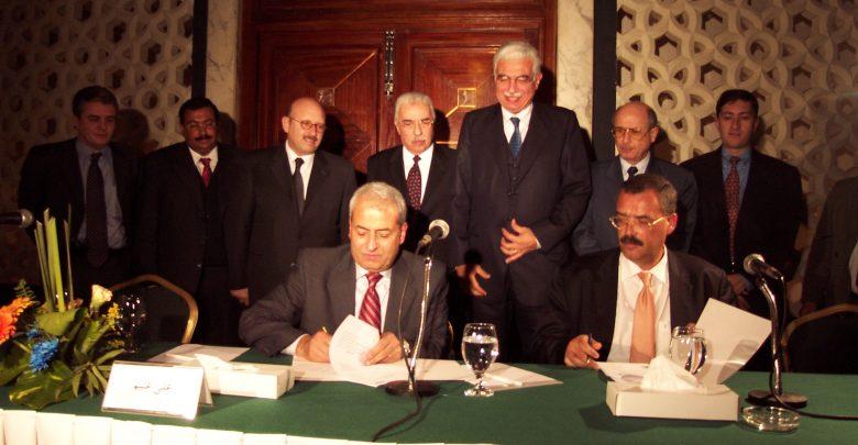 حفل اطلاق شركة سنترا  للالكترونيات فبراير 2004