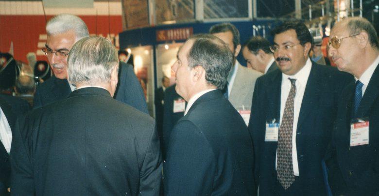 خلال معرض الاتحاد الدولي للاتصالات جنيف 2003
