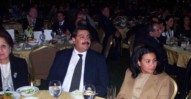 عام 2002خلال حفل عشاء كايرو تيليكومب