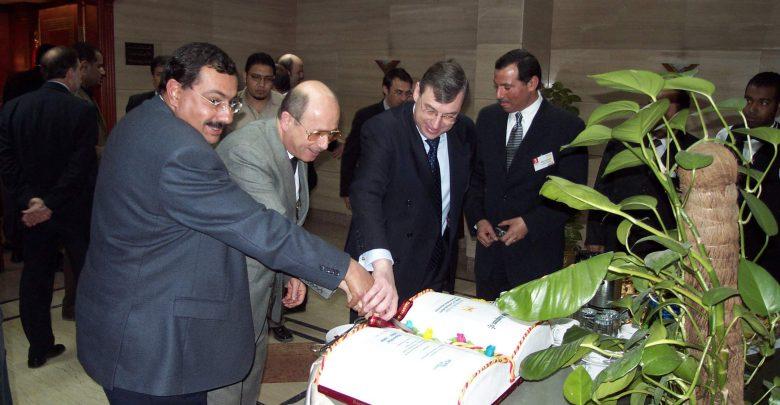 عام 2003 خلال اتفاقية المصرية للاتصالات ونورتل نتوركس
