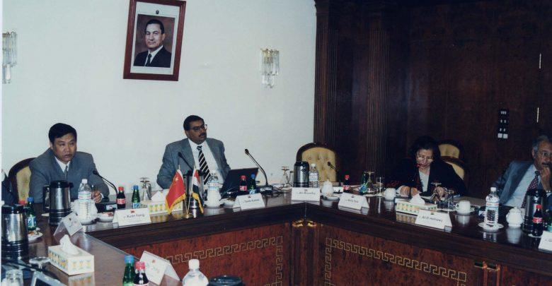 عام 2003 ولقاء مع احدى الشركات العالمية