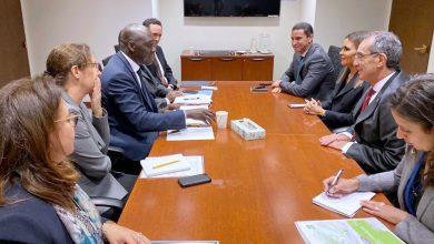 "Photo of ""الاستثمار"" و""الاتصالات"" يبحثان مع البنك الدولي دعم البنية الأساسية في دول القارة الإفريقية"