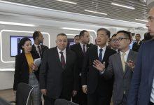 Photo of رئيس المجلس الاستشاري الصيني ووكيل مجلس النواب المصري يزوران هواوي مصر