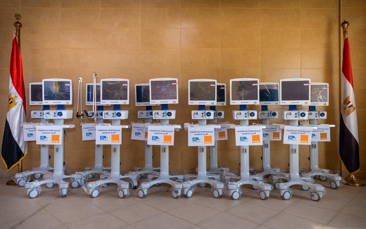 Photo of اورنچ تساهم فى صيانة وإصلاح أجهزة التنفس الصناعي بالمستشفيات المصرية