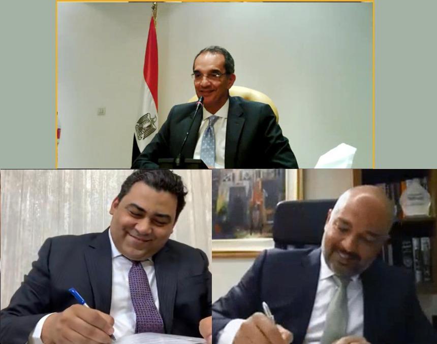"""Photo of اتفاقية بين WE و""""اتصالات مصر"""" لخدمات التراسل والبنية التحتية والترابط البينى بين المحمول والثابت"""
