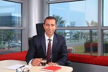 """صورة غدا…. """"عبد الله"""" يتولى مهام منصبه الجديد رئيسا لفودافون مصر"""