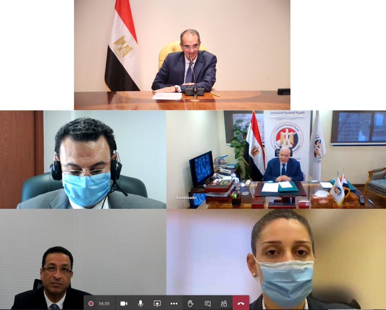 "Photo of ""الاتصالات"" تطور  البنيـة المعلوماتية للوطنية للانتخابات"