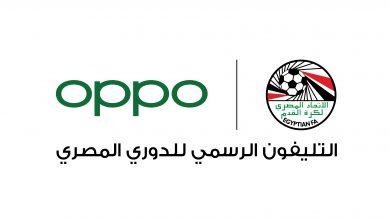 صورة OPPO الراعي الرسمي للدوري المصري الممتاز 2020