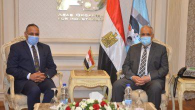 """Photo of """"العربية للتصنيع"""" تبحث مع """"البحث العلمي"""" دعم المشروعات البحثية وتفعيل الإبتكارات المصرية"""