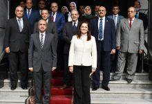 صورة وزيرة التخطيط تبحث مؤشرات الدخل والإنفاق